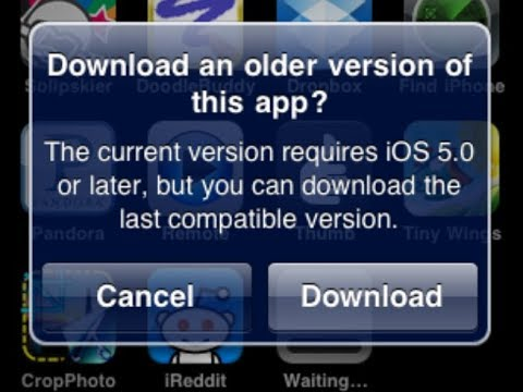 How to Install Any App on iOS 5.1.1 or Older …