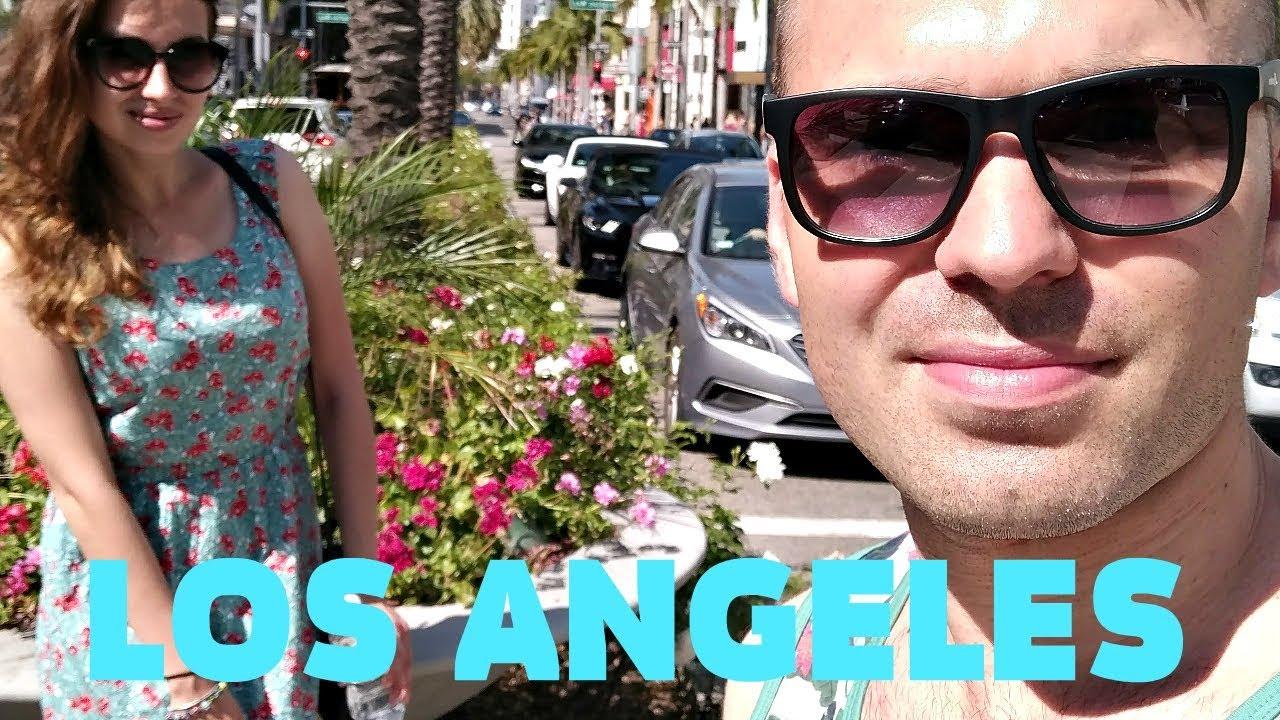 USA VLOG ★ LOS ANGELES   BEVERLY HILLS   SANTA MONICA BEACH