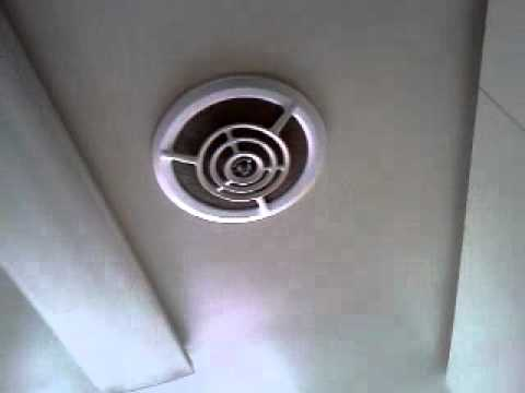 Vintage Nutone Kitchen Fan Youtube