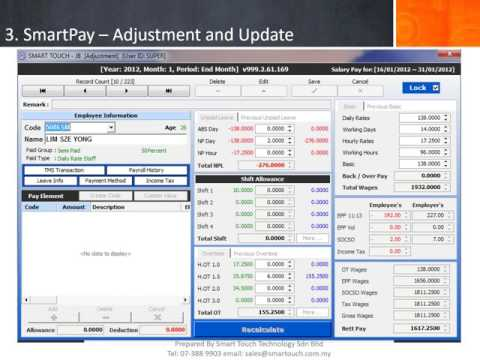 Smart MyPay - Malaysia Payroll Software