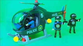 👮🏽 Playmobil City Action Unboxing Police Set, Helicopter, Cruiser, Motorcycle and Jetski!
