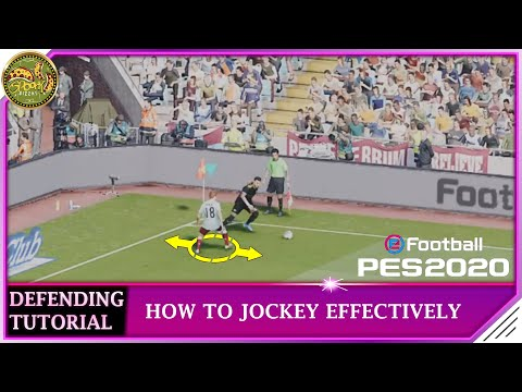 PES 2020 | Defending Tutorial - How to Jockey Effectively thumbnail