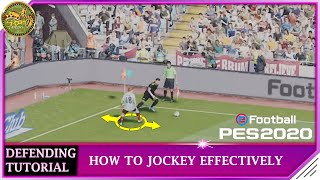 PES 2020 | Defending Tutorial - How to Jockey Effectively