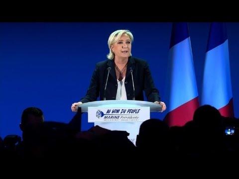 Marine Le Pen appelle les électeurs à la rejoindre