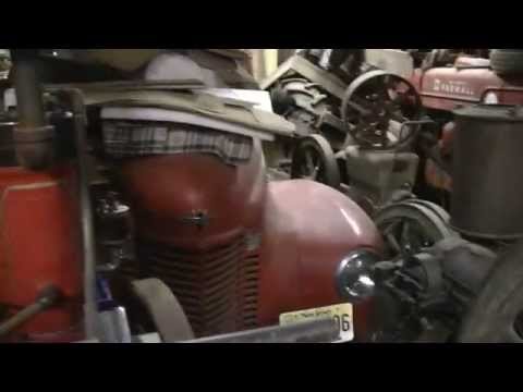 ANTIQUE ENGINE AND TRACTOR HOARD (part 1)