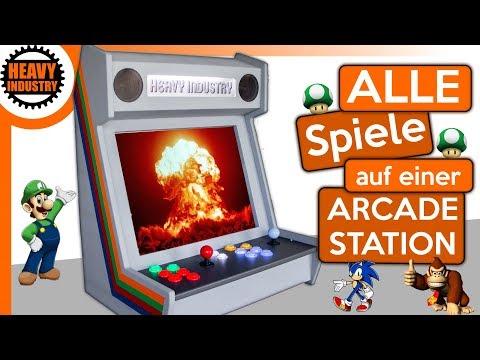 (2/2) DEIN 🔥 Arcade Automat 🔥 mit 1001 Spielen!