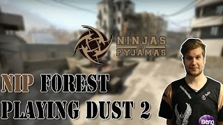 NIP f0rest playing CS:GO Faceit on dust 2 (twitch stream)
