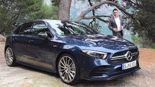2019 Mercedes A35 AMG  ROUGH Drive Review 4MATIC AClass Sound Acceleration Exhaust
