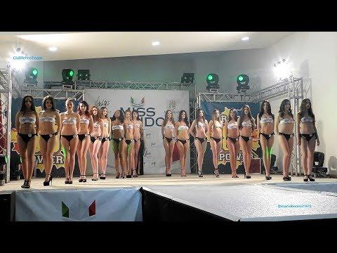 Miss Mondo Italia 2018 Sfilata in Bikini e Premiazioni 3^ tappa Arcole Verona
