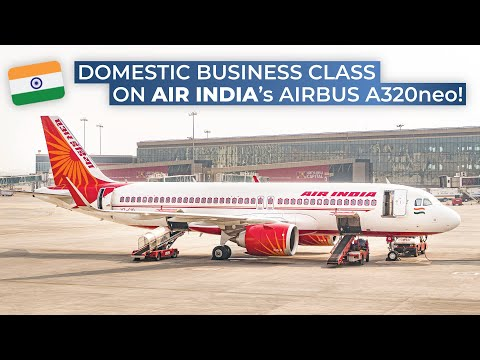 TRIPREPORT | Air India (BUSINESS CLASS) | Airbus A320neo | Delhi - Mumbai
