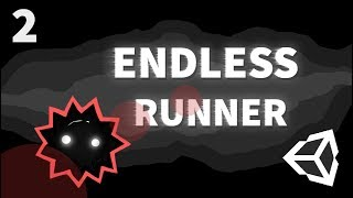 HOW TO MAKE A SIMPLE GAME IN UNITY - ENDLESS RUNNER - #2