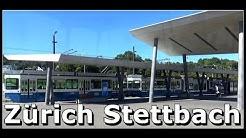 Bahnhof Zürich Stettbach - Verkehrsknotenpunkt Stettbach, Schweiz