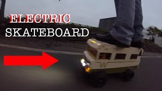 Boosted Electric Winnebago Skate Board