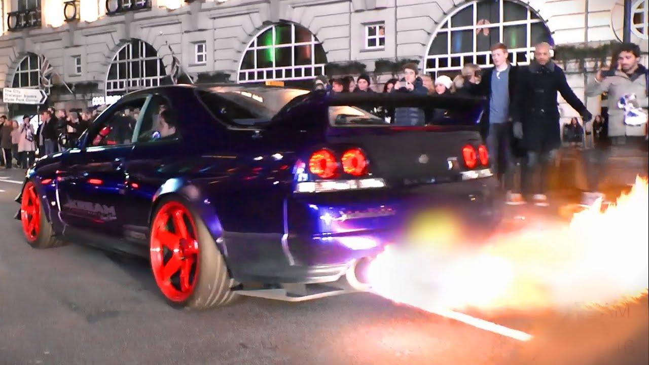 Front stoßstange nissan skyline r34 gtr passend für: Kream Developments Nissan Skyline GTR - Burnouts, Flames