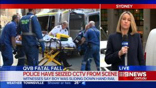 13yo Boy Falls To His Death In Qvb