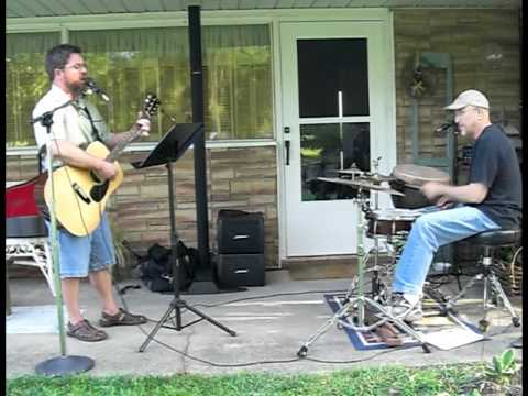 Steve Griffin - Gone - on the patio with the Bose L1 and Porchboard Bass