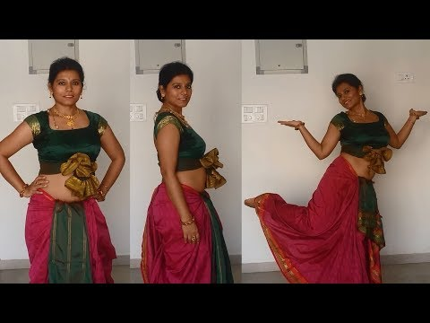 Drape a DHOTI in Two UNIQUE Styles