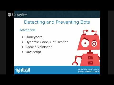 Bots  How to Detect and Prevent