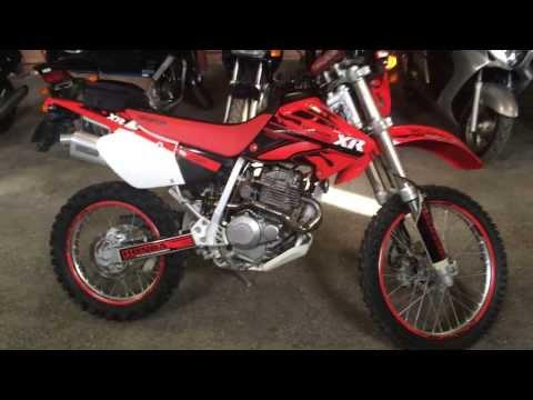 Мотоцикл HONDA XR250