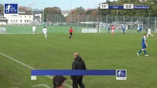 A-Junioren - SSV Ulm 1846 Fussball vs. FV Ravensburg 2:0 - Bleron Visoka