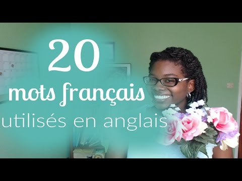 20 French Words used in English