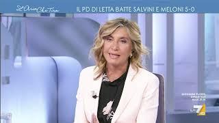 Siparietto tra Myrta Merlino e Ignazio La Russa: