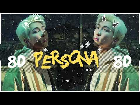 ⚠️ [8D AUDIO] BTS - PERSONA (MAP OF THE SOUL)  [USE HEADPHONES 🎧] | BASS BOOSTED | 방탄소년단 RM |  8D