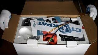 Лебідка електрична СТОКРАТ QX 6.0 LS, 12V, 2.1 h.p. Розпакування та вимірювання.