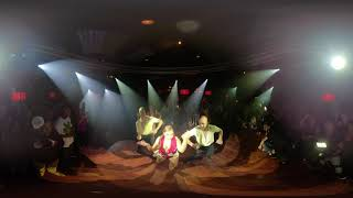 360° VR Video LATIN VINTAGE Salsa Dance Performance At THE SALSA ROOM