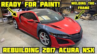 Rebuilding a Wrecked 2017 Acura NSX Part 2