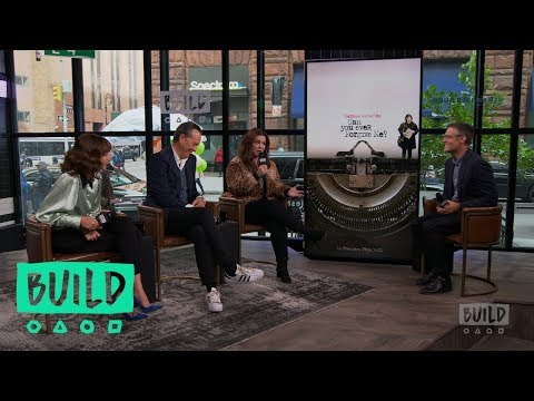 "Melissa McCarthy, Richard E. Grant & Dolly Wells Discuss ""Can You Ever Forgive Me?"""