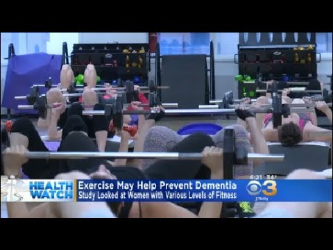 Study: Exercise May Help Prevent Dementia In Women
