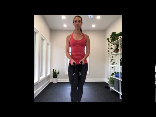 Full Body Band HIIT Workout