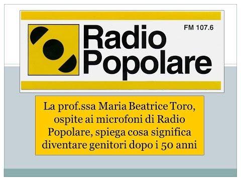 Radio Popolare - Diventare genitori a 50 anni