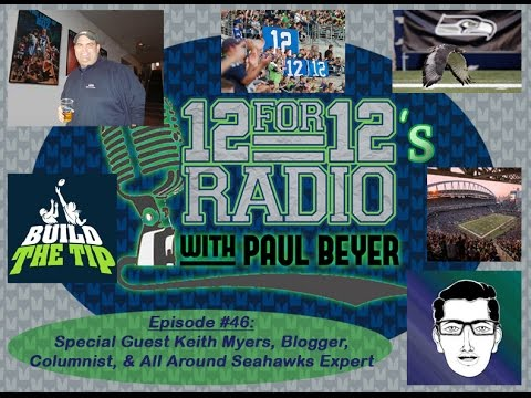 12 For 12s Radio Episode #46, Guest Keith Myers Joins Host Paul Beyer