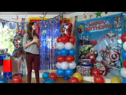 Assemble A Superhero Party With The Avengers YouTube