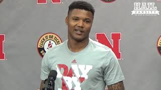 Nebraska Football: DB Lamar Jackson Meets with Media During Senior Week