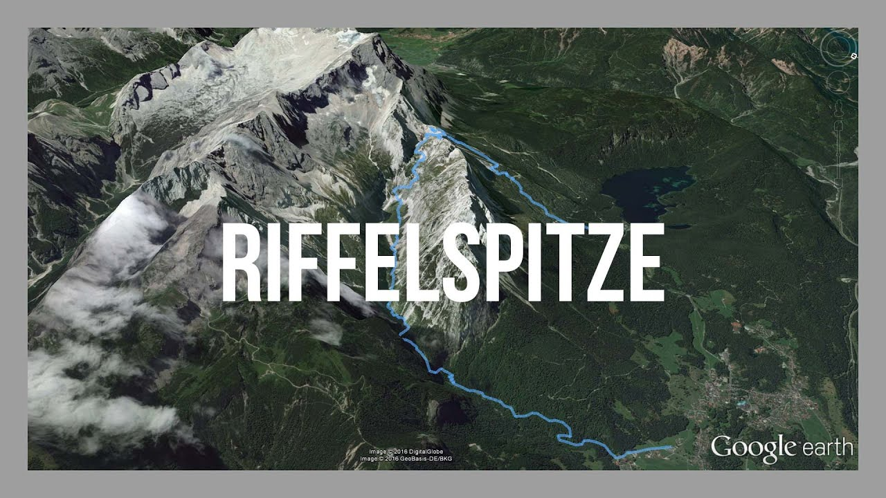 riffelspitze eibsee wandern an der zugspitze gps. Black Bedroom Furniture Sets. Home Design Ideas