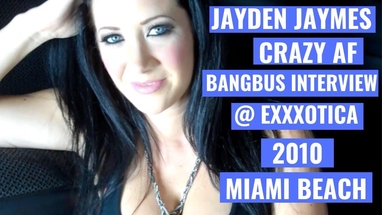 MisterJoshW Interview w/ XXX Jayden Jaymes in the BANG BUS | Exxxotica 2010  Miami Beach #Pornstar