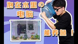 """你见过泡在""""水""""里还能养鱼的电脑主机么?我们做出来了!"""