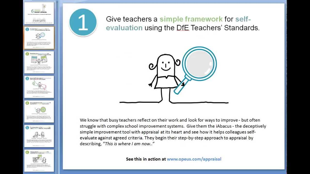 6 Steps To Successful Teacher Appraisal (Performance Management)