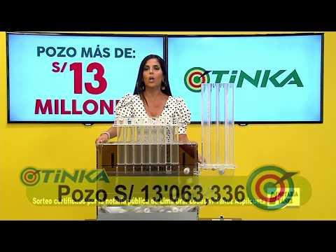 Sorteo Tinka - Domingo 20 de mayo de 2018