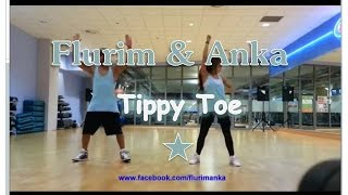 "Dance Fitness // Zumba - ""Tippy Toe"" - Mix - Flurim & Anka"