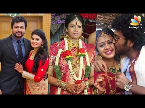Tamil Actors or Celebrities who got married in 2016 | Boby Simha, Actress Sanghavi , Asin