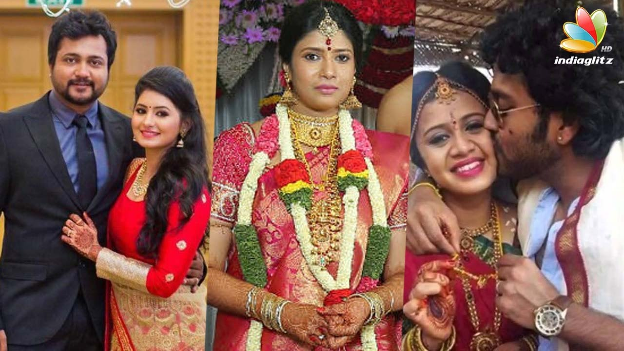 Tamil Actors Or Celebrities Who Got Married In 2016