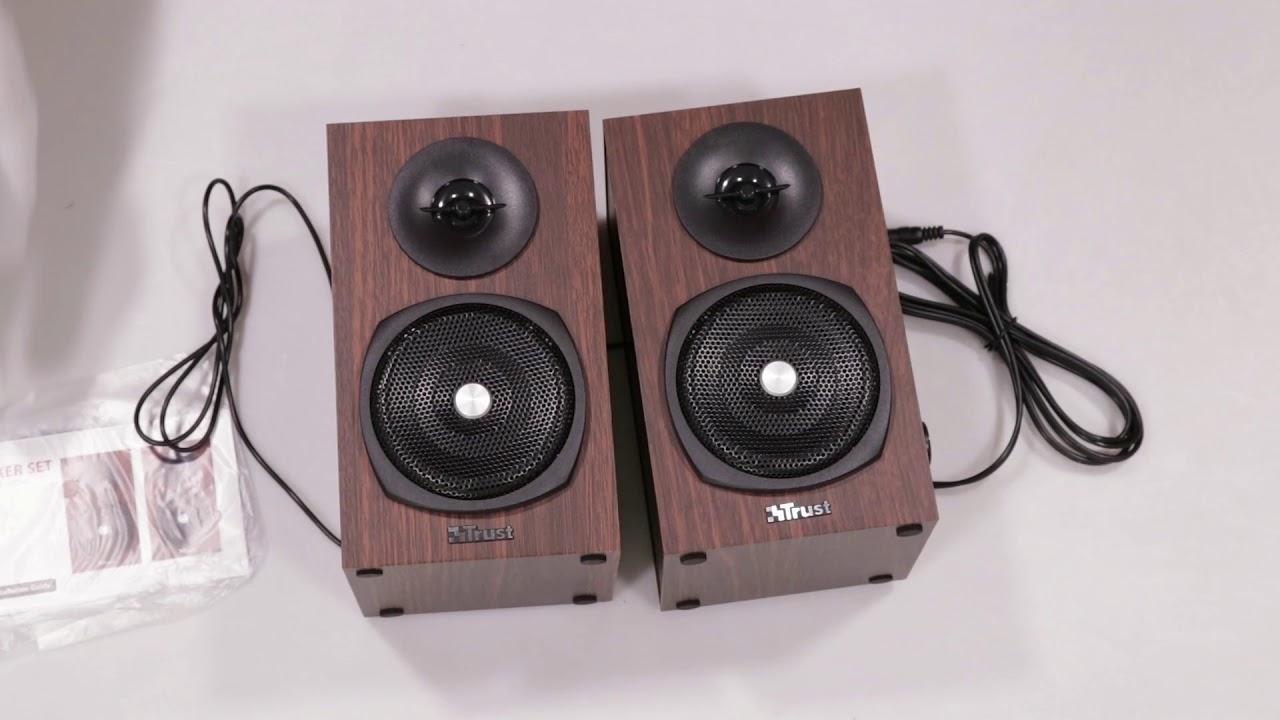 Unboxing Trust Vigor Speaker Set for pc and laptop