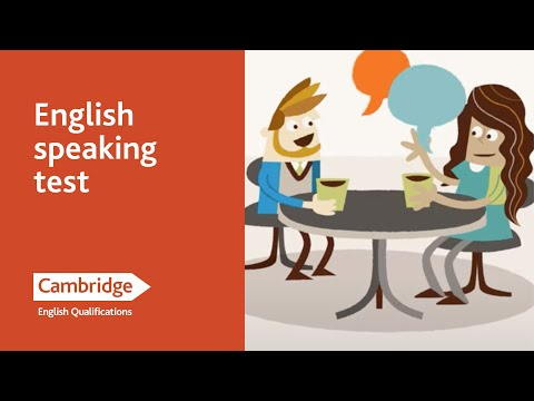 English Language Learning Tips - Speaking Test