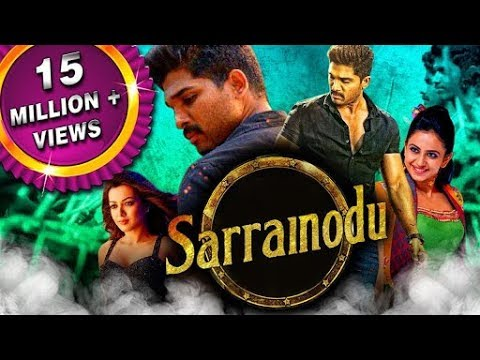 Sarrainodu action movie Allu arjun  hindi dubbed blockbuster 2018| in hindi bollywood