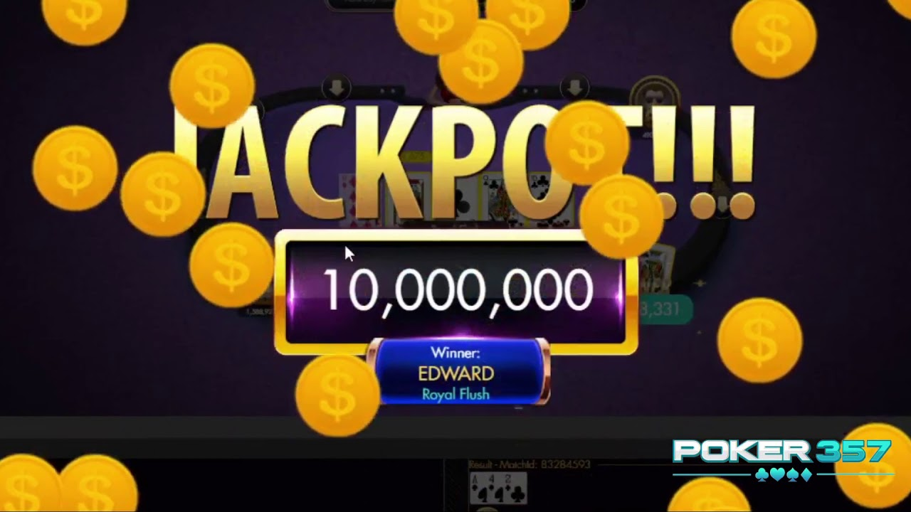 Jackpot Poker P2play Auto Win 38jt Langsung Kabur Tarikkk Youtube