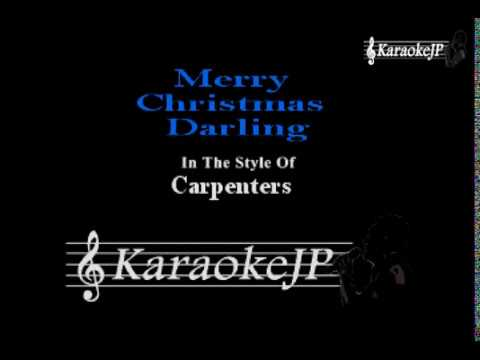 Merry Christmas Darling: Carpenters' Christmas 2020 Merry Christmas Darling (Karaoke)   Carpenters   YouTube